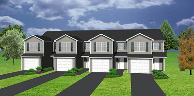 4plex plan J0121124 – Fourplex Plans With Garage