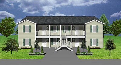 Duplex plans house plans apartment plans Fourplex apartment plans