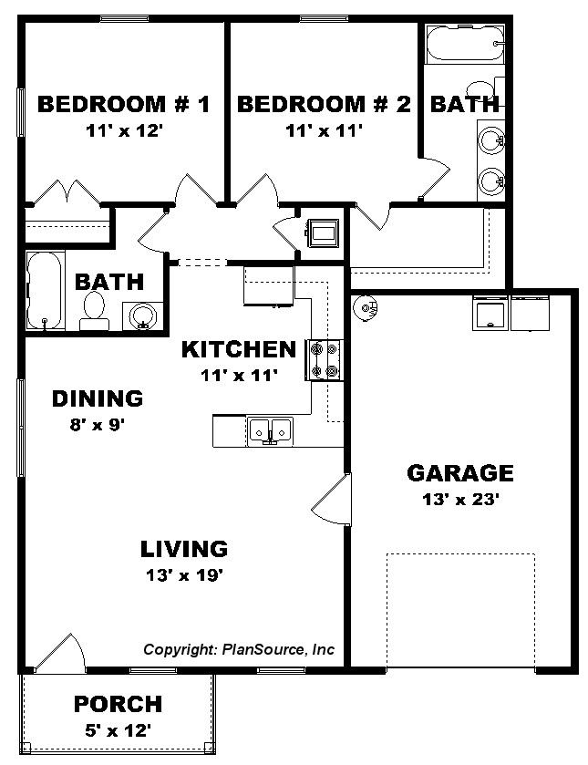 Small house plans for seniors tiny house floor plans for for Small house plans for seniors