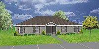 J0418-11d, duplex house plan