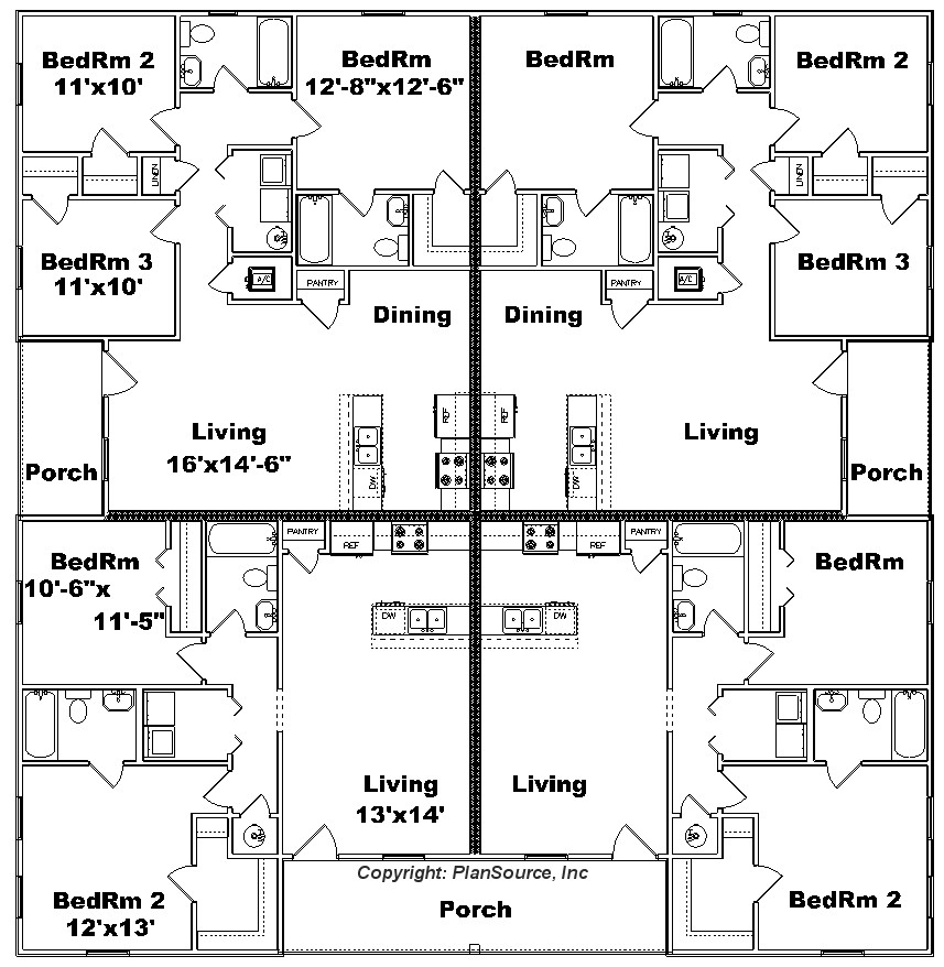 4 Plex Floor Plans Carpet Review