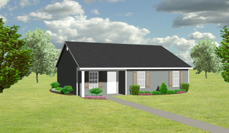 cottage plan / small house j1031 | plansource, inc
