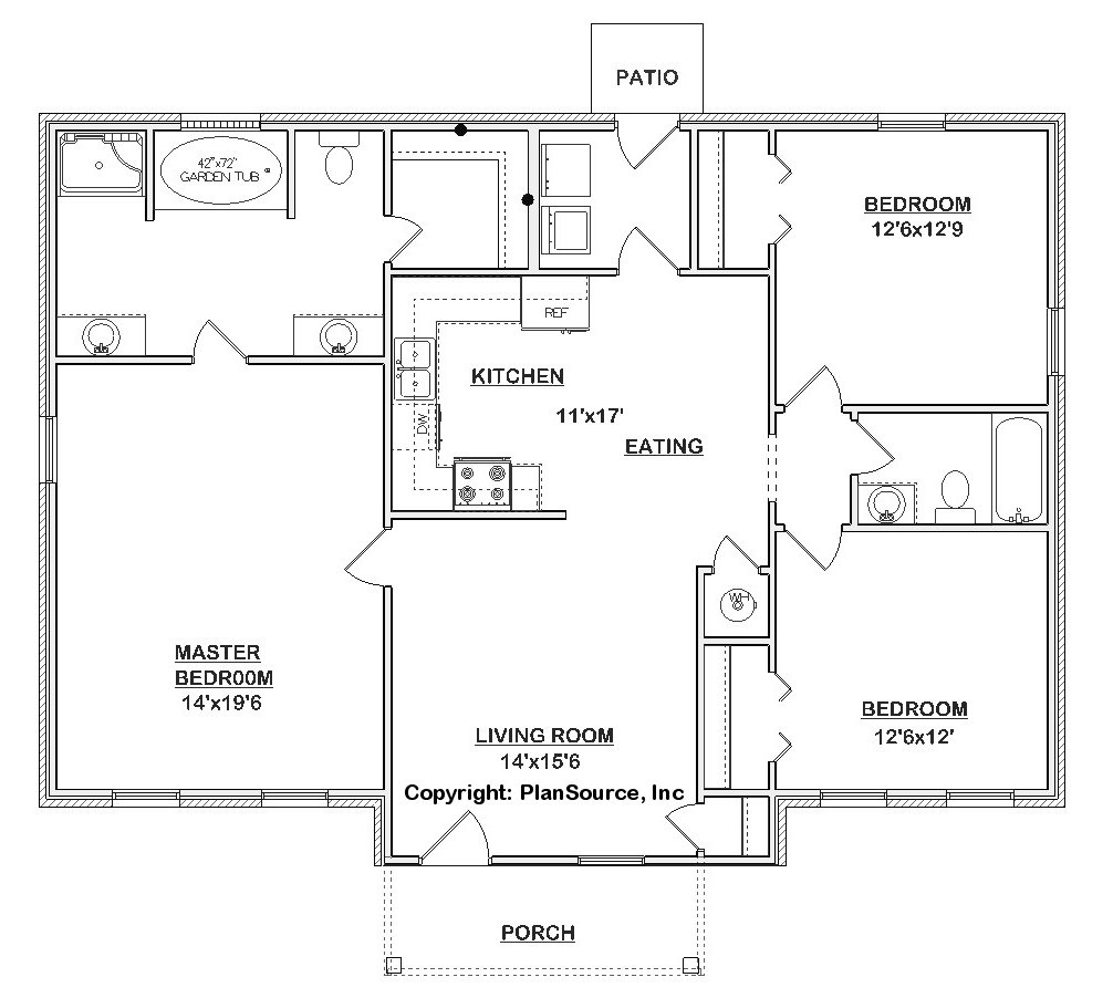 pin j1301 house plans by plansource inc image floor plan open source modern home design and decorating