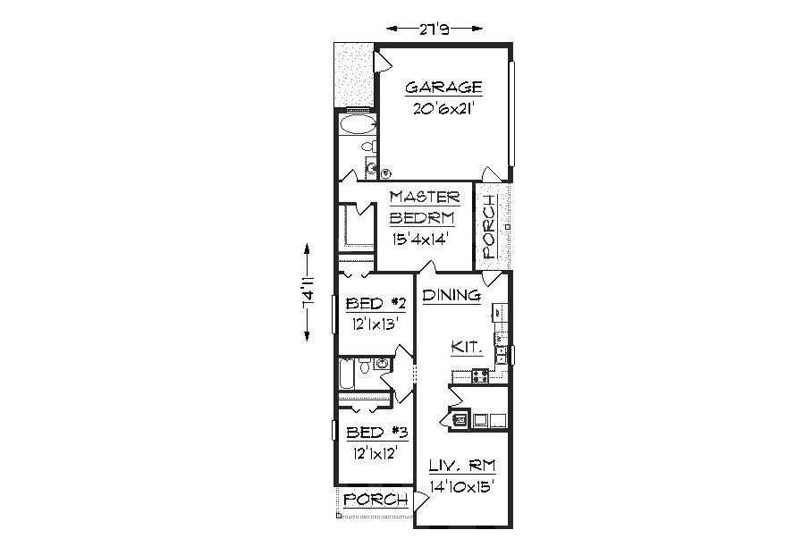 House Plan J1405