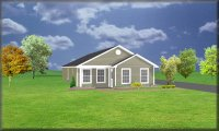 Small house design J1188