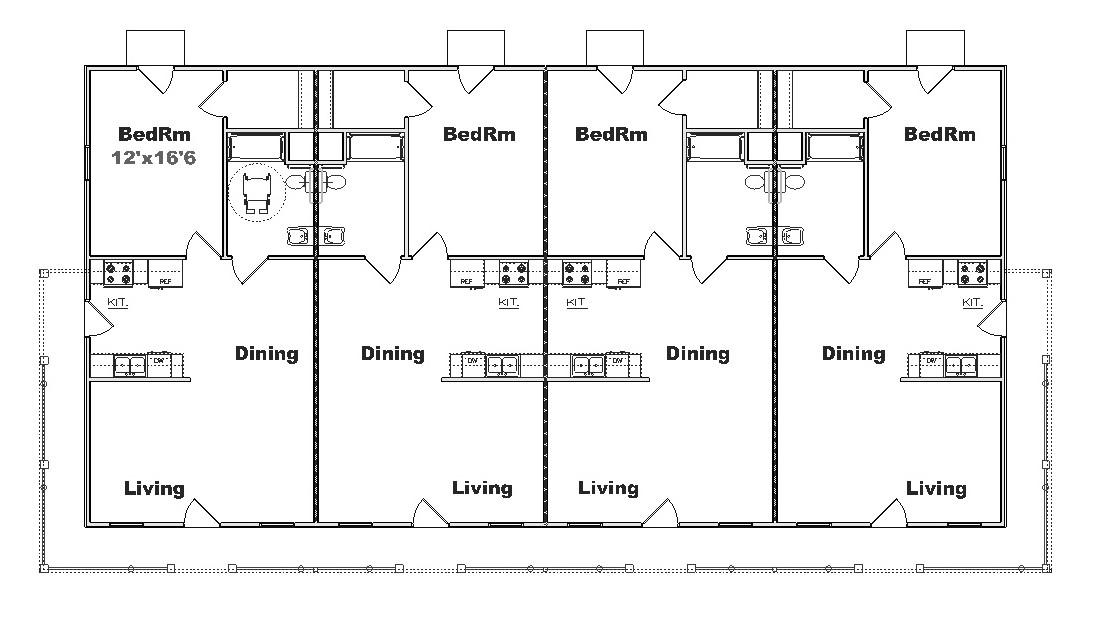 Apartment plan J1764-4