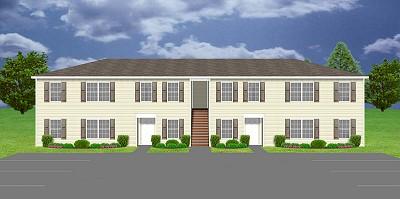 Apartment plan j1964 4 plansource inc for 8 unit apartment plans