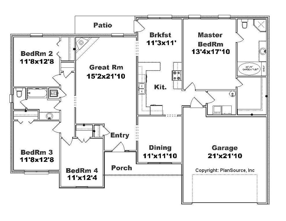 ... Floor Plans besides Front View House Plans. on plansource house plans