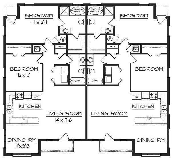 Duplex J2387d