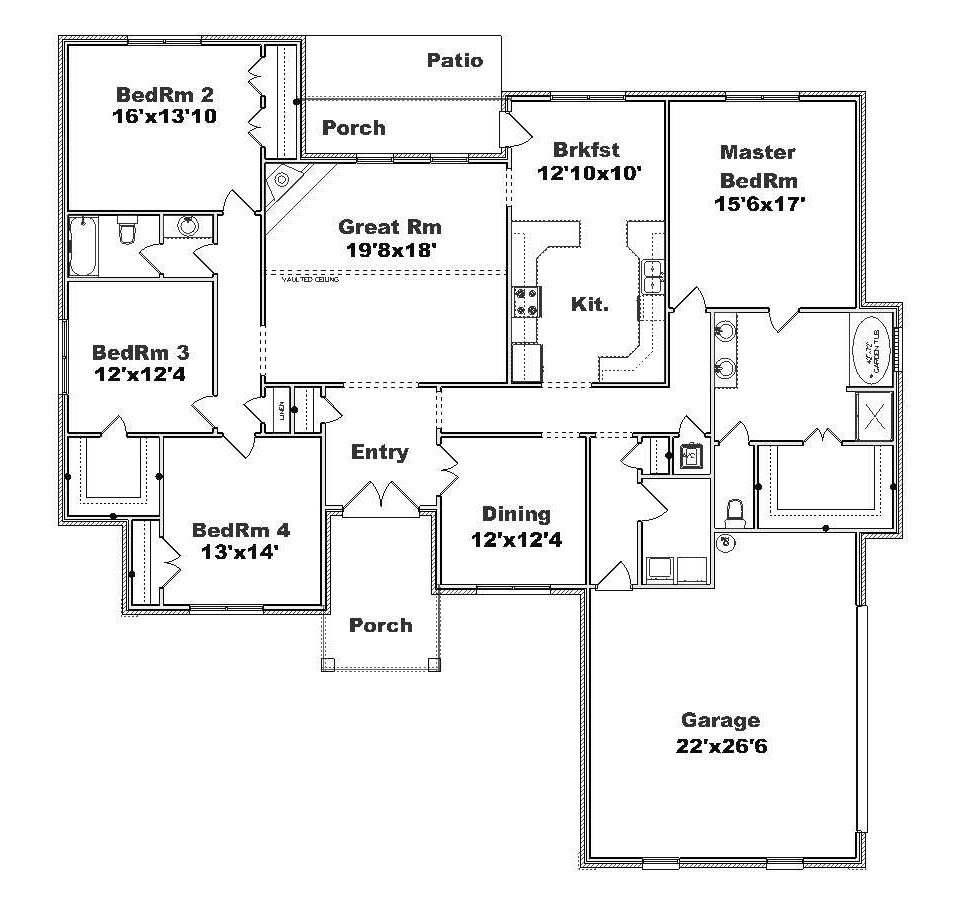 Plansource Inc Duplex Plans House Plans Apartment Plans
