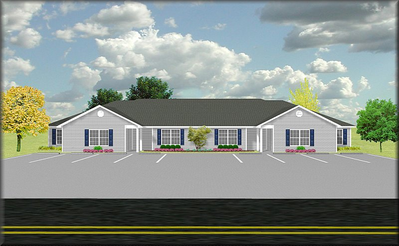 Fourplex plan J28784 – Fourplex Plans With Garage