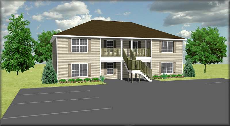 four plex building plans house plans home designs cost