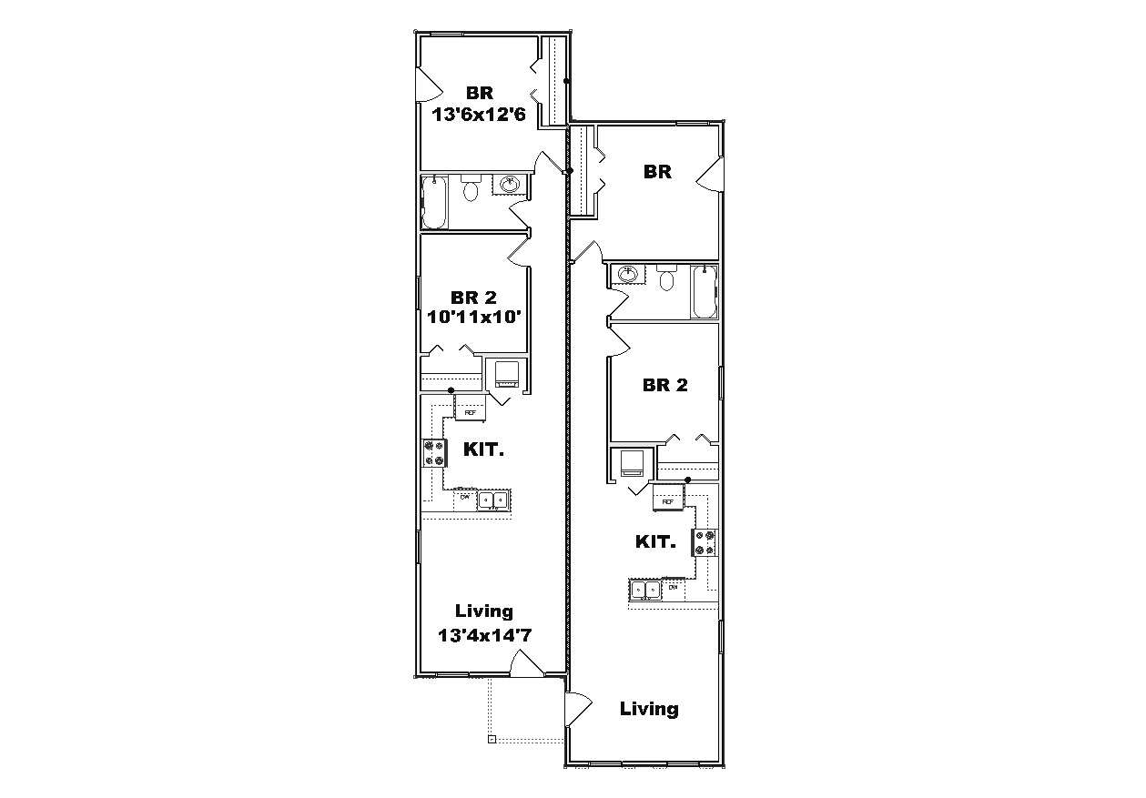 duplex plan j842d j842d ad copy