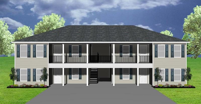 Apartment plan J891-4-12 | PlanSource, Inc